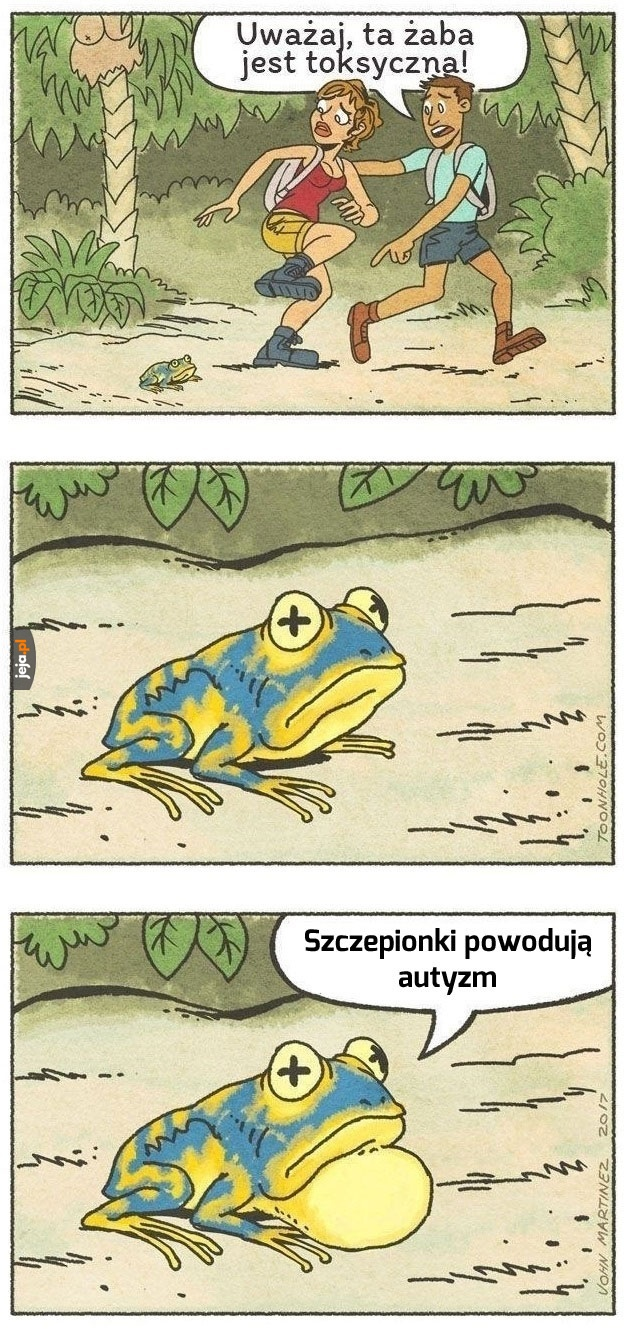Toksyczna żaba