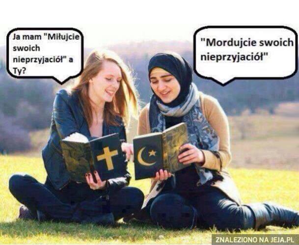 Różnica między religiami
