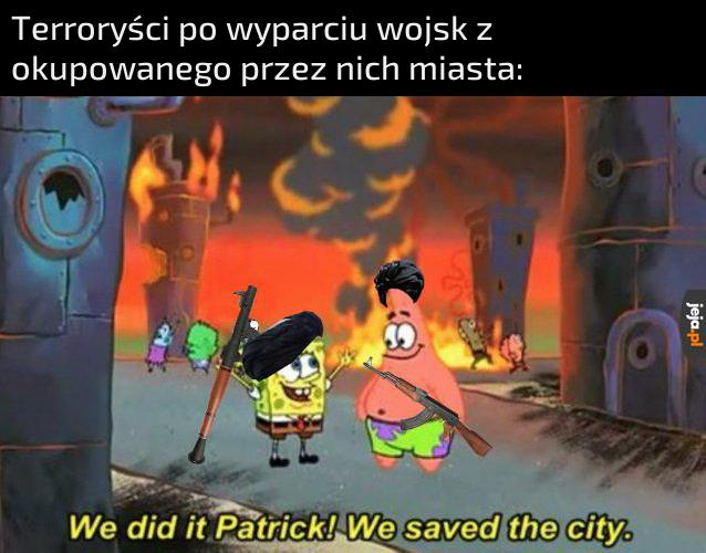 Jesteśmy bohaterami!