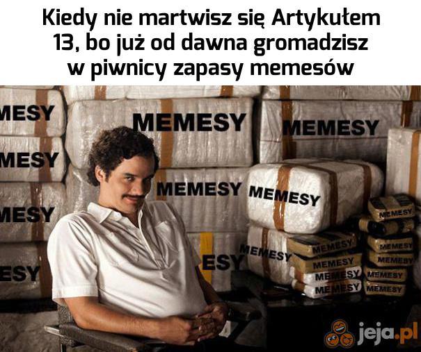 Hej, chcecie kupić trochę memesów?