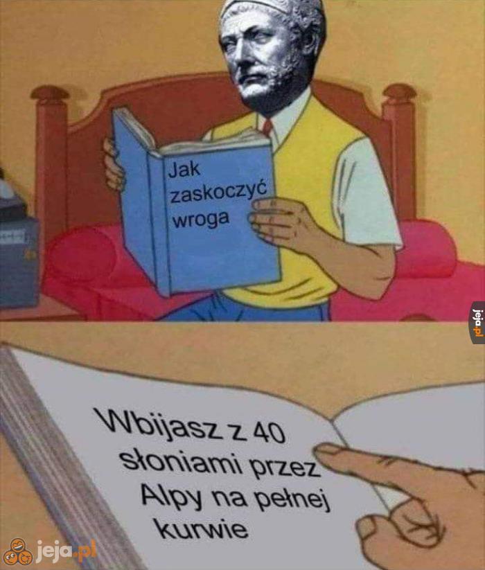 Hannibal to miał rozmach