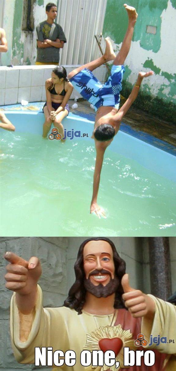 Po wodzie na rękach