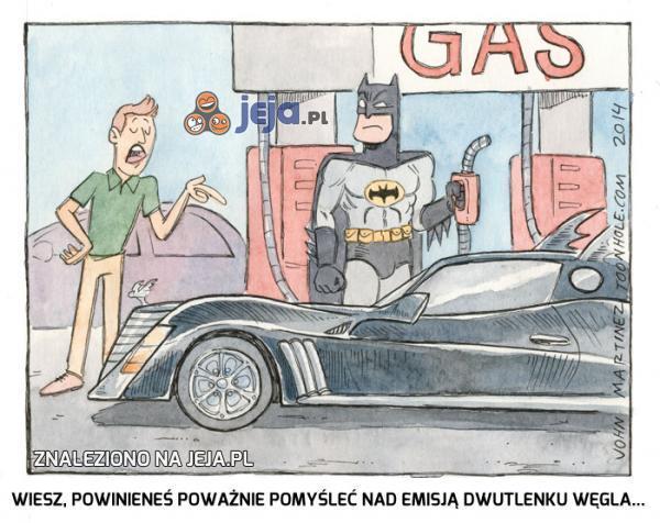 Oj Batman...