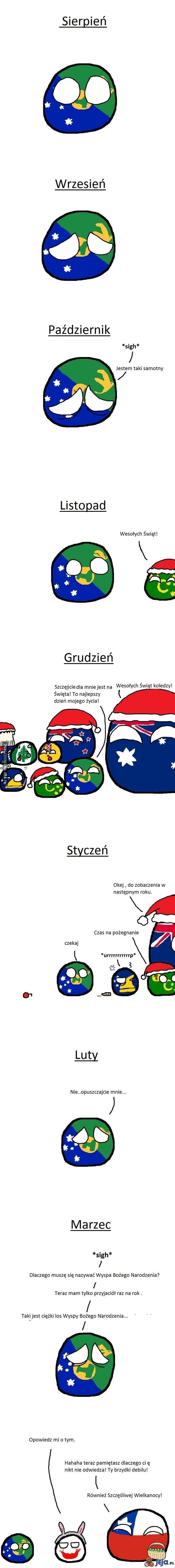 Ciężki los Wyspy Bożego Narodzenia