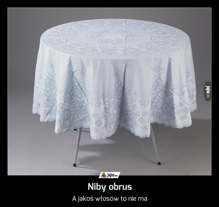 Niby obrus
