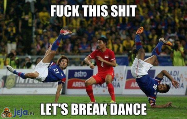 Chrzanić mecz! Czas na taniec!