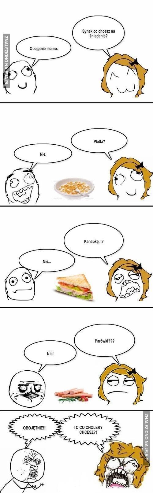 Synku co byś zjadł?