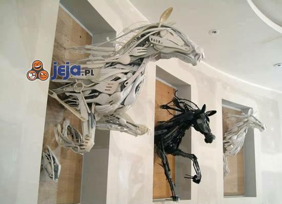 Sztuka z recyklingu