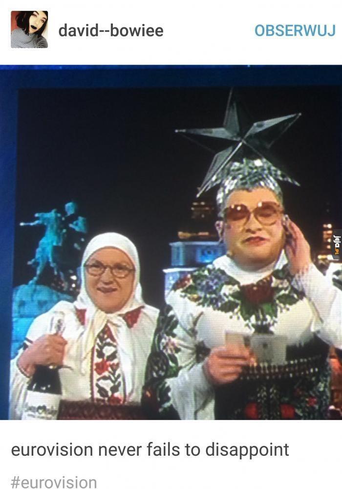 A Ty dalej myślisz, że ta Eurowizja była dziwna?