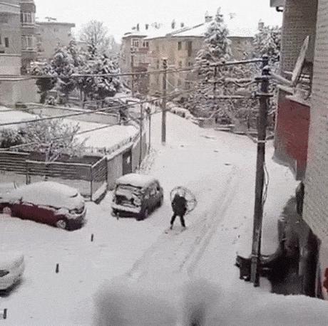 A Ty jak radzisz sobie ze śniegiem?