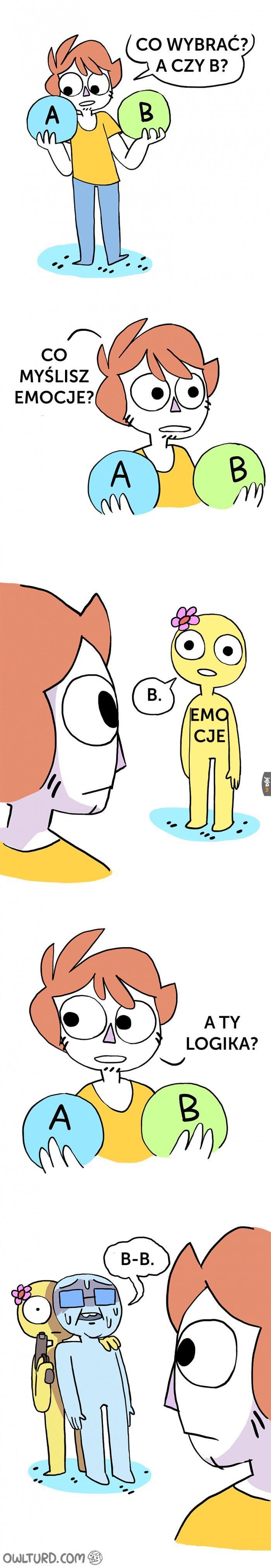 Emocje vs Logika
