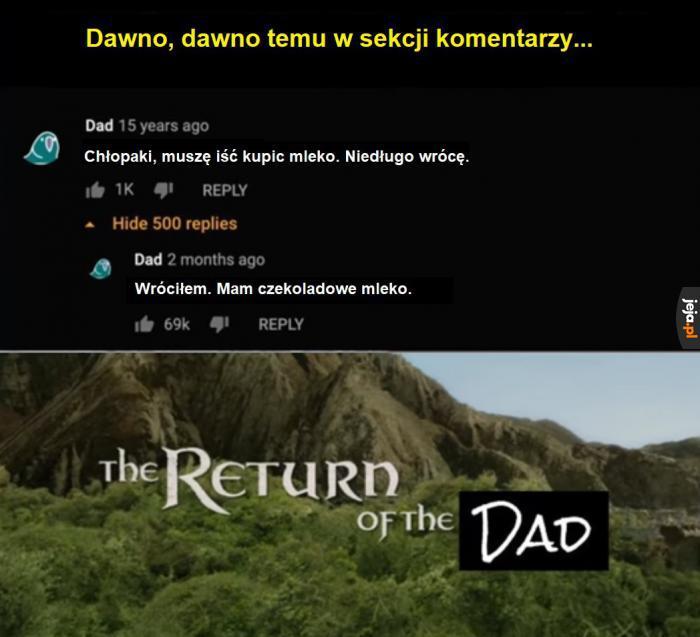 Powrócił!
