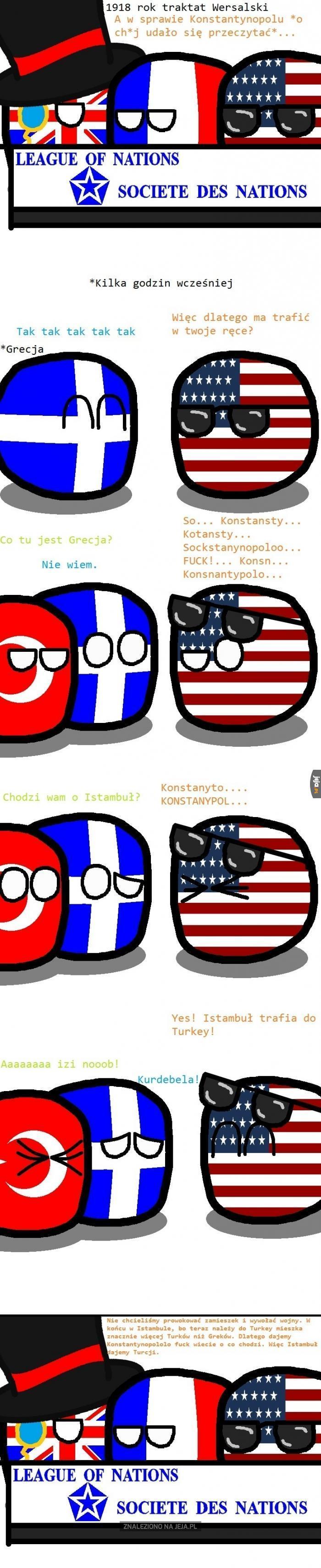 Konstantynopol czy Istambuł?