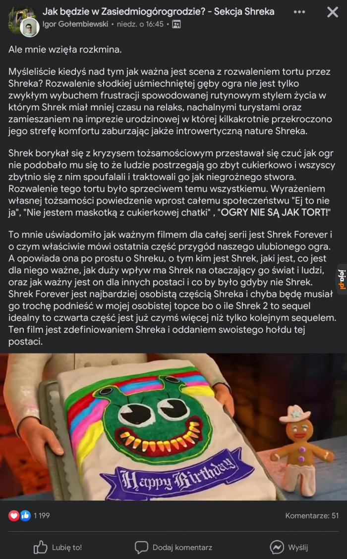 Prawda o Shrek Forever