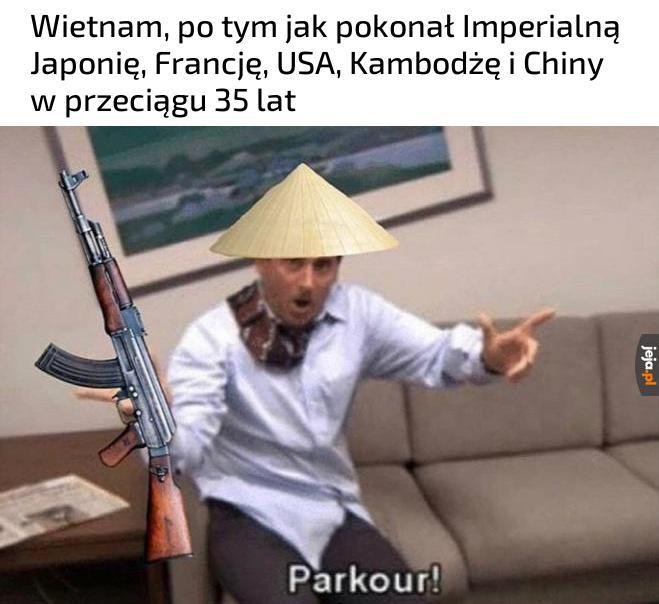 Wietnamczycy to umieją w obronę