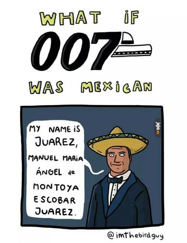 Meksykański James Bond