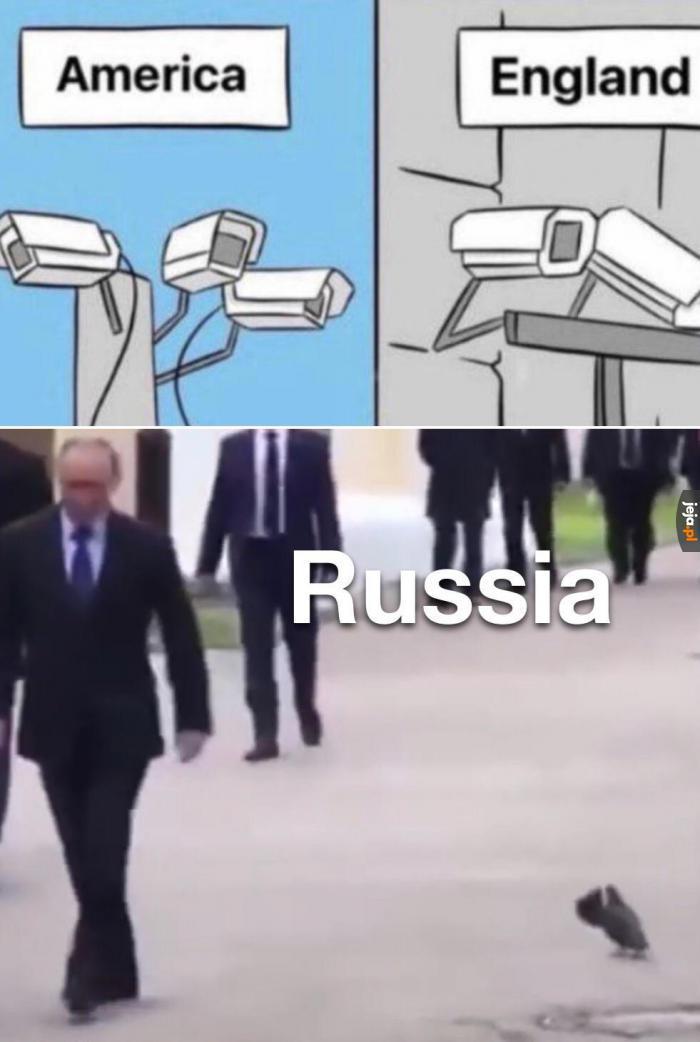 Wszędzie ma szpiegów