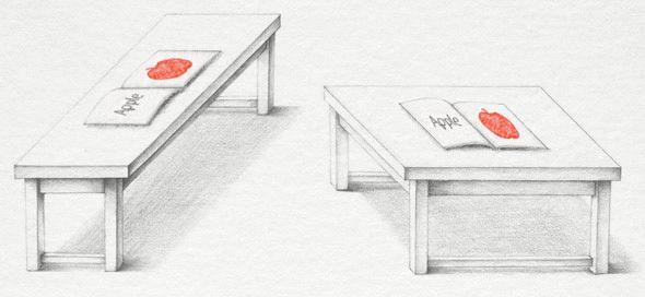 Iluzja: stoły