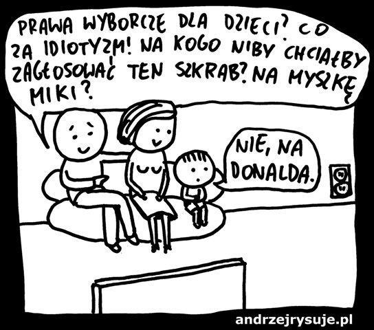 Dzieci głosują