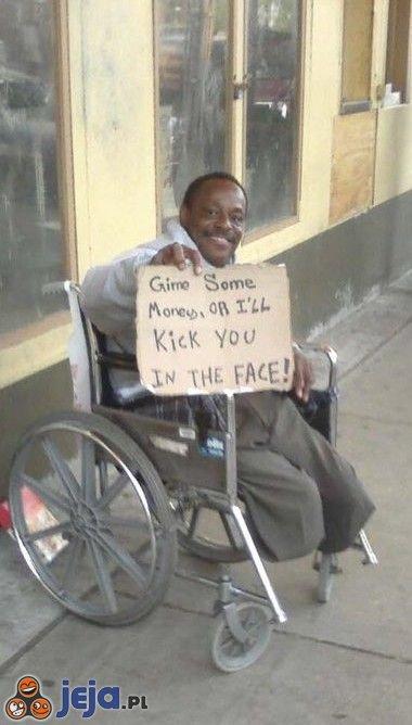 Pomóż niepełnosprawnemu
