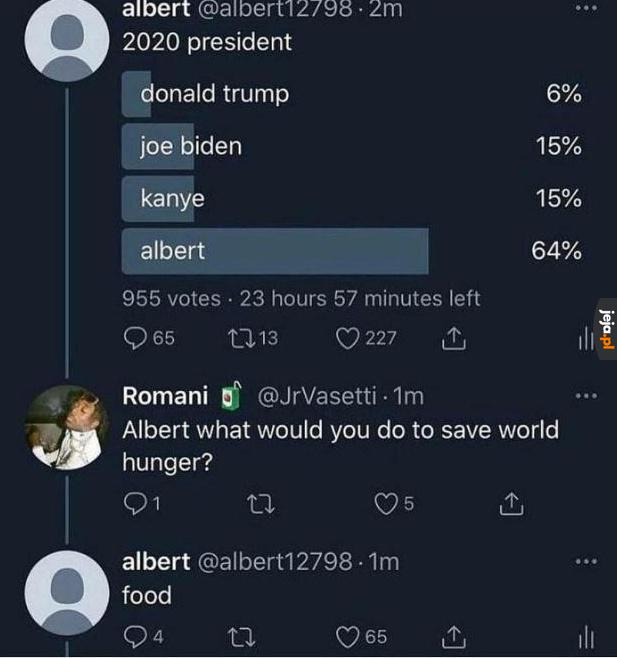 Albert nas wybawi