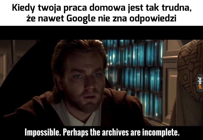 Niemożliwe...