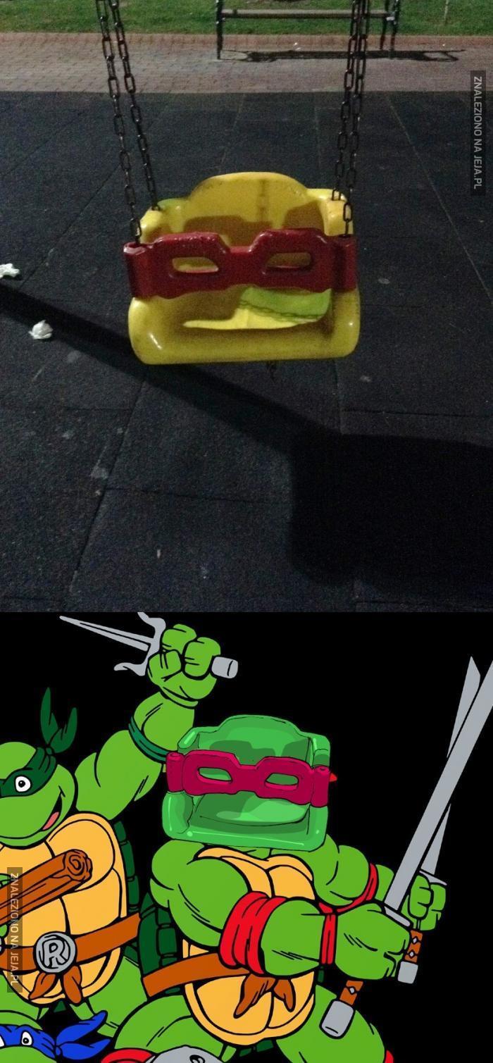 Wojownicza huśtawka ninja!
