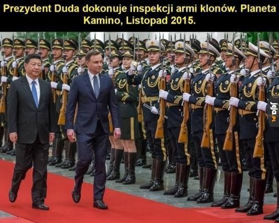 Prezydent na Kamino
