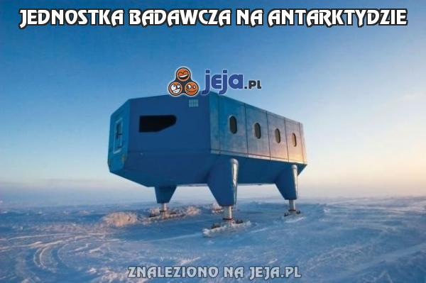 Jednostka badawcza na Antarktydzie