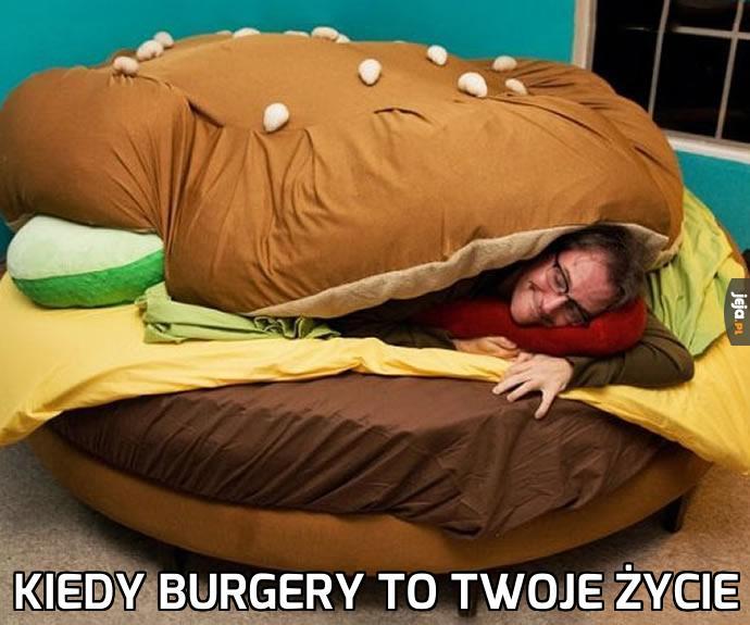 Pyszne łóżko!