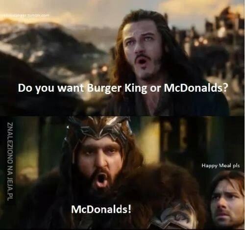 Thorinie, co wybierasz?
