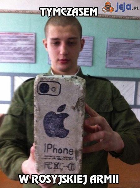 Tymczasem w rosyjskiej armii