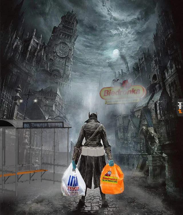 Kiedy wychodzisz z domu zrobić zakupy