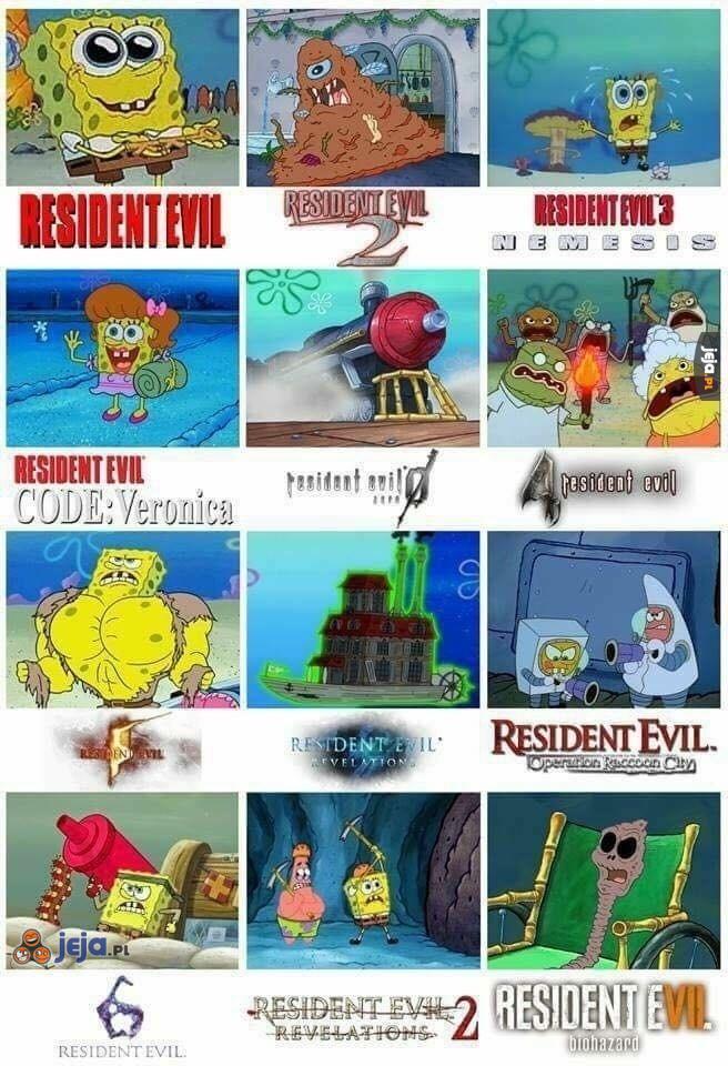 Spongebob i Resident Evil