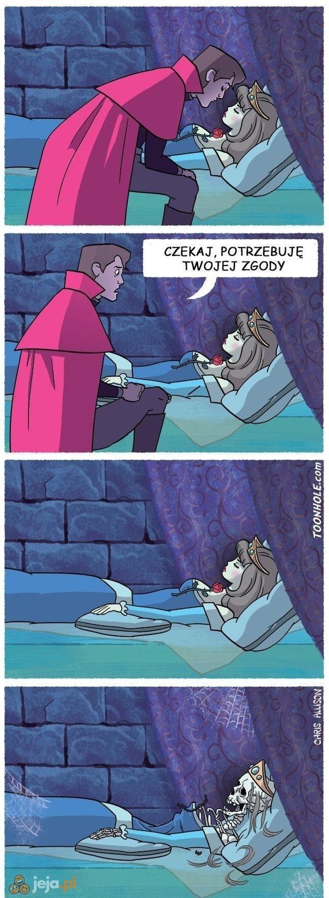 Śpiąca Królewna i książę
