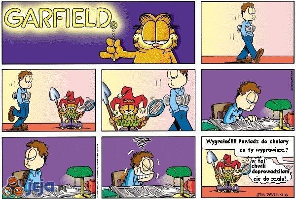 Garfield: Zabawa