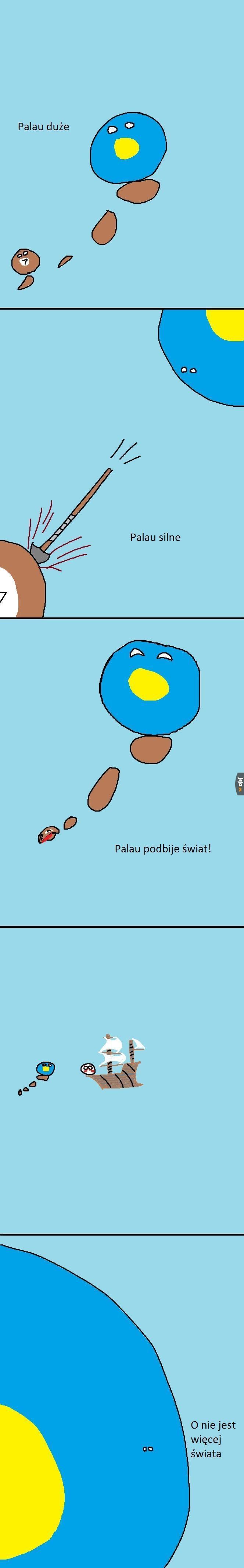 Palau nie wiedziało