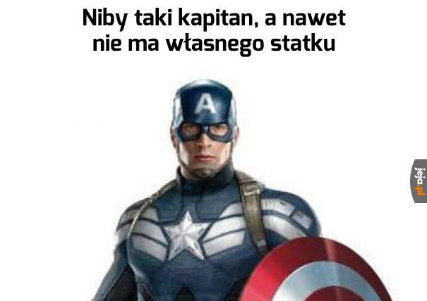 To ma być kapitan?