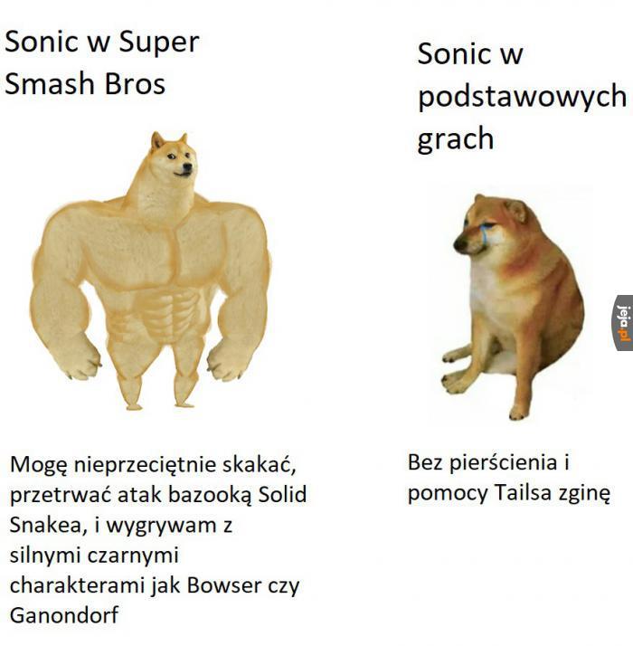 Sonic w różnych uniwersach
