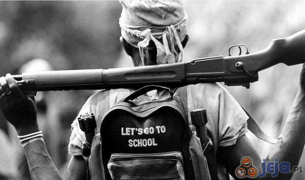 A do szkoły...