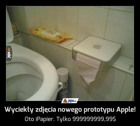Wyciekły zdjęcia nowego prototypu Apple!