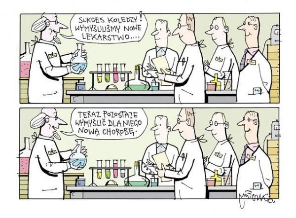 Wymyśliliśmy nowe lekarstwo!