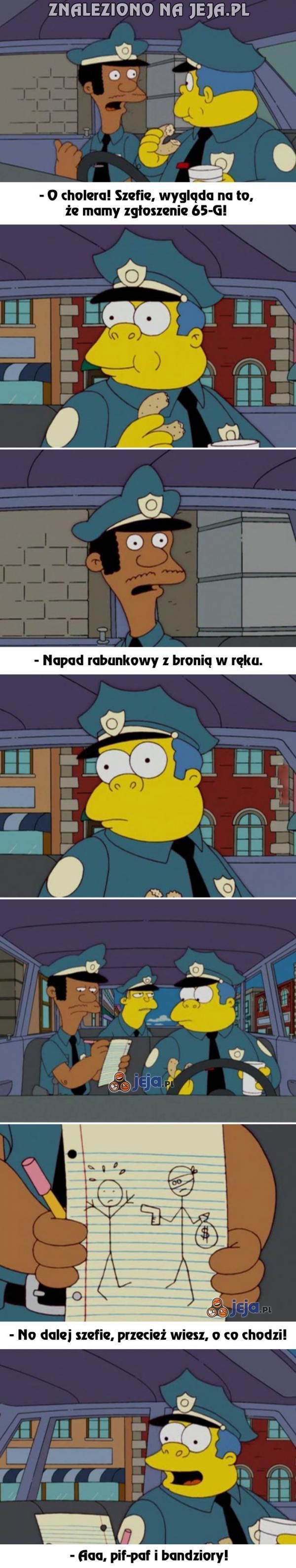 Ach, Ci inteligentni policjanci...