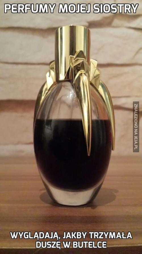 Perfumy mojej siostry