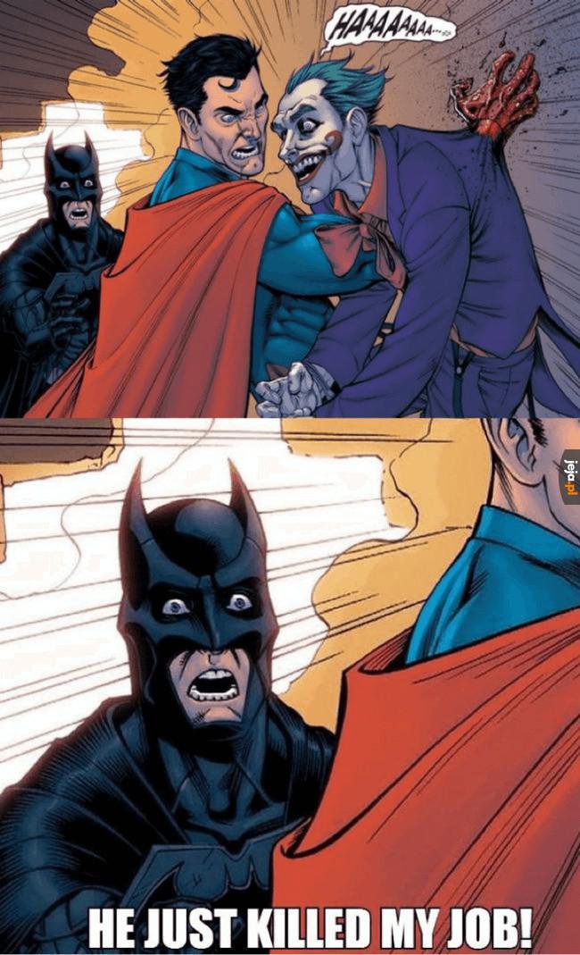 Batman właśnie stracił robotę
