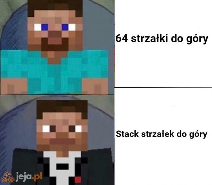 Gracze Minecrafta wolą drugą opcję