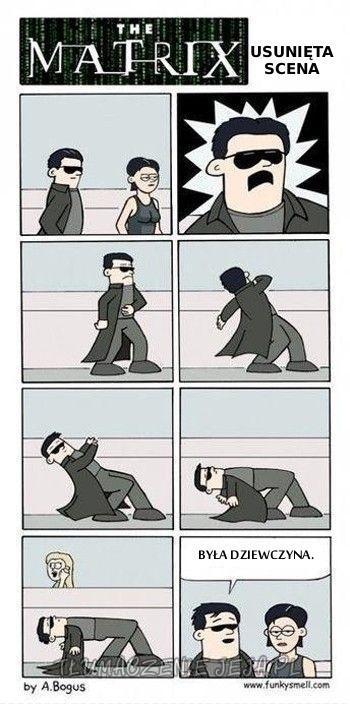 Matrix: Usunięta scena