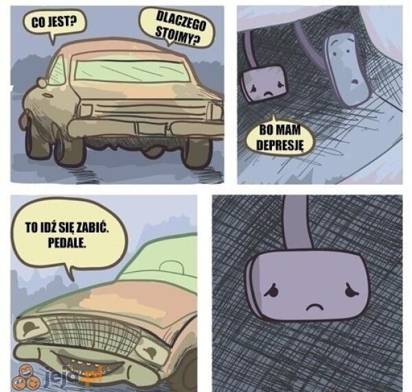 Wyjątkowo niemiły samochód