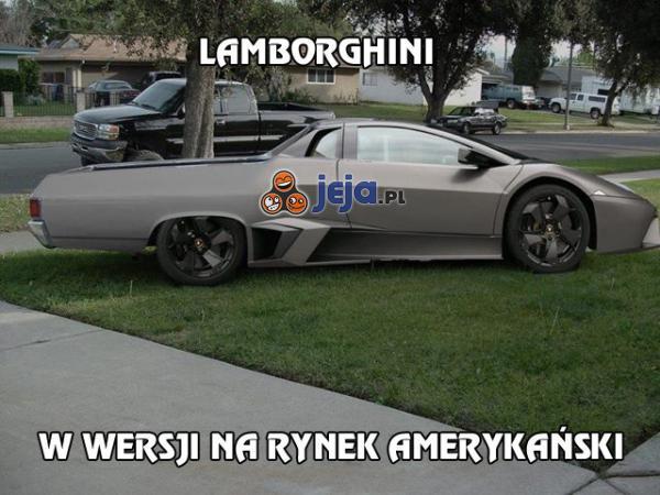 Nietypowe Lamborghini