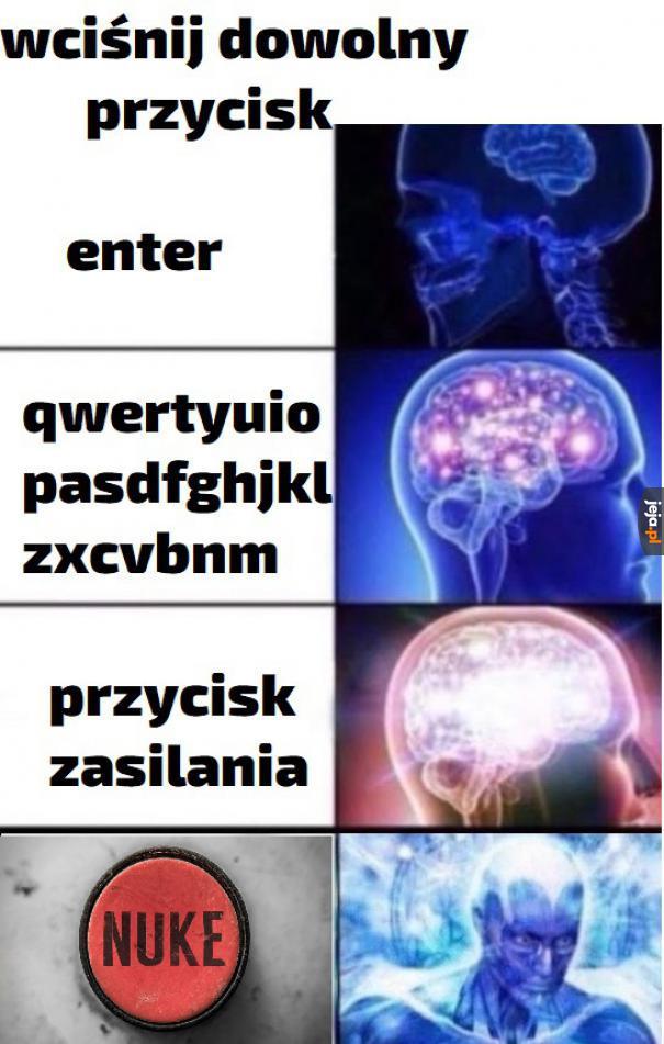 POTĘŻNY GUZIK